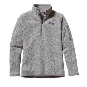 Woman's Patagonia Better Sweater Quarter Zip